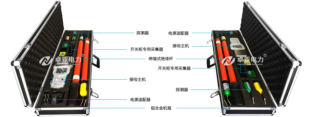 远程无线核相仪附件配件图