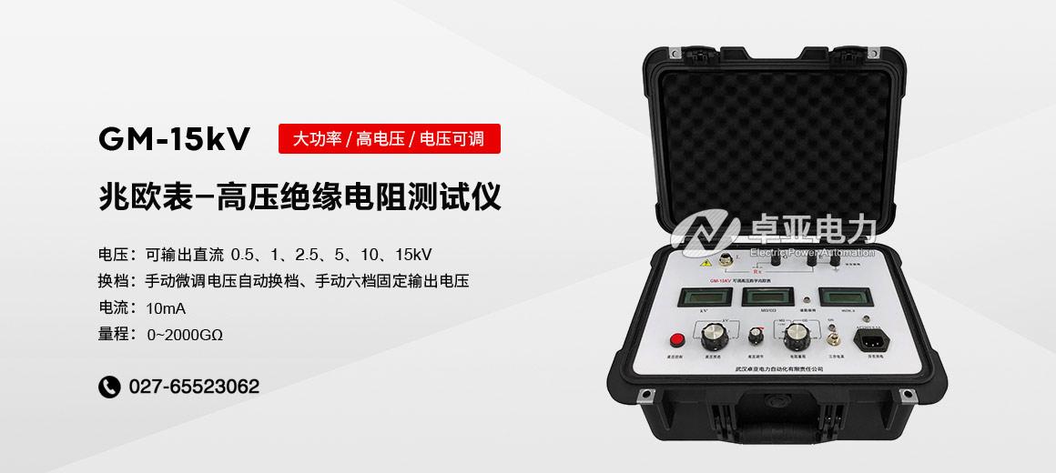 15kV可调高压数字兆欧表