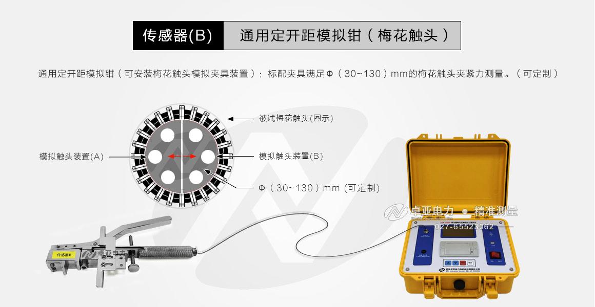 高压隔离开关触指压力测试仪