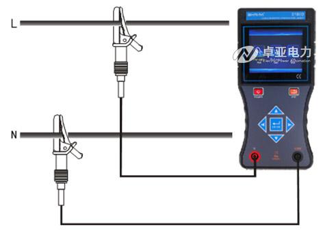 电压测量方法及电压测量接线图