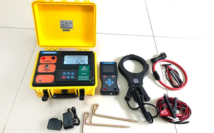 高压电缆识别仪 - 标准配件