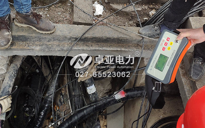 高压电缆对线器
