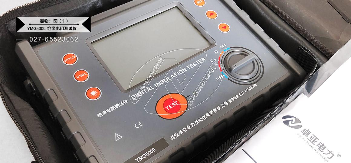 大型变压器绝缘电阻测试仪 - 实物图(仪表)