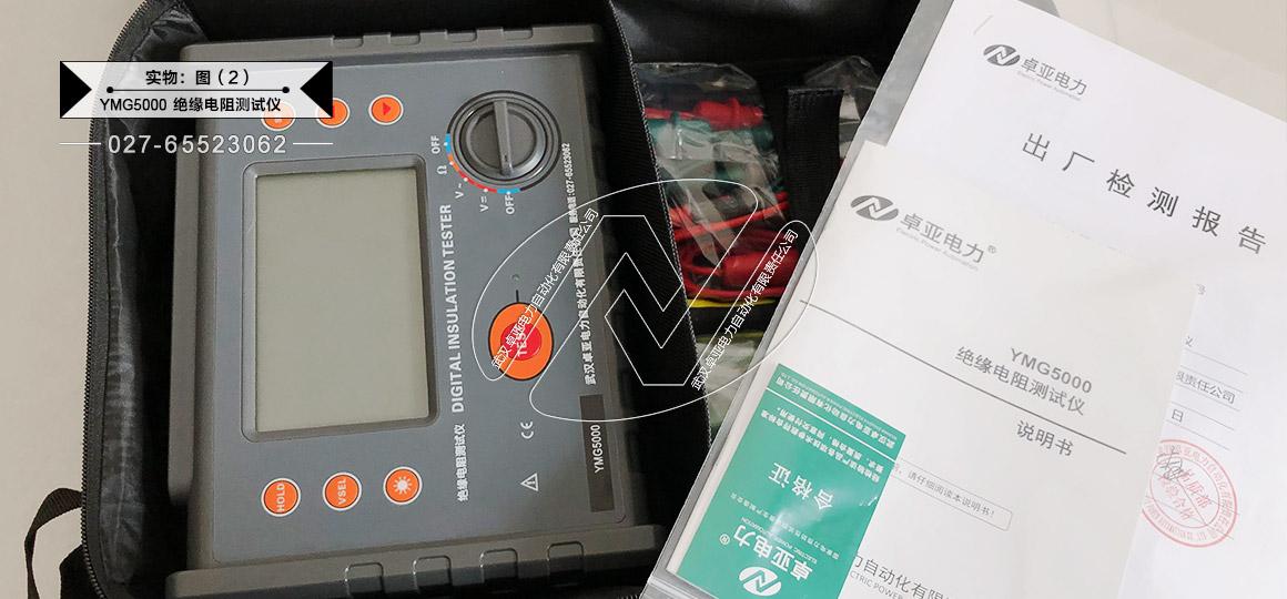 大型变压器绝缘电阻测试仪 - 实物图(仪表+说明书)
