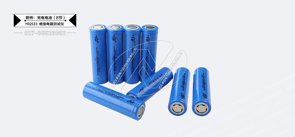 高压绝缘电阻测试仪-电池