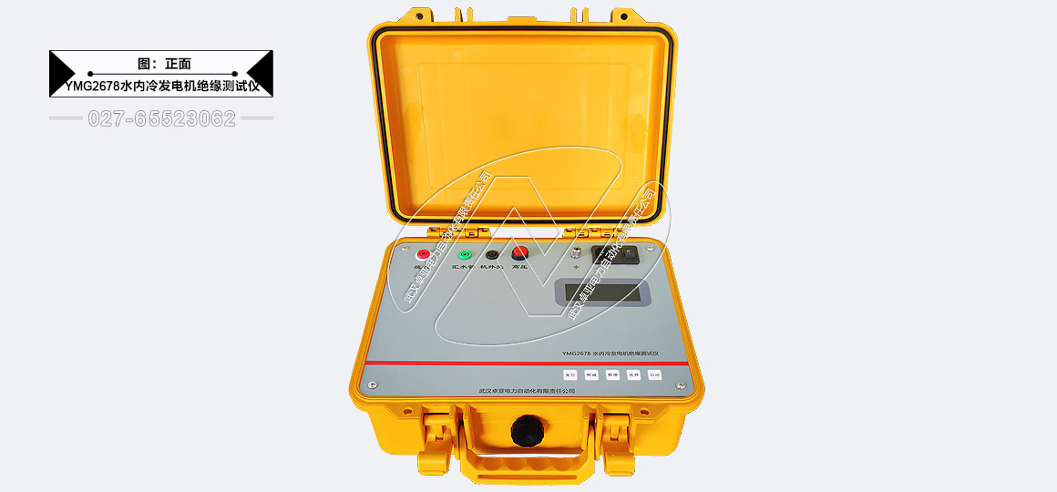 水内冷发电机绝缘电阻测试仪-正面