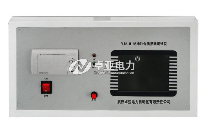绝缘油介质损耗测试仪面板