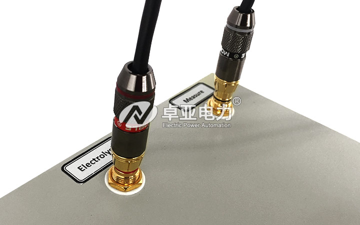 微量水分测定仪 - 电解电极接口