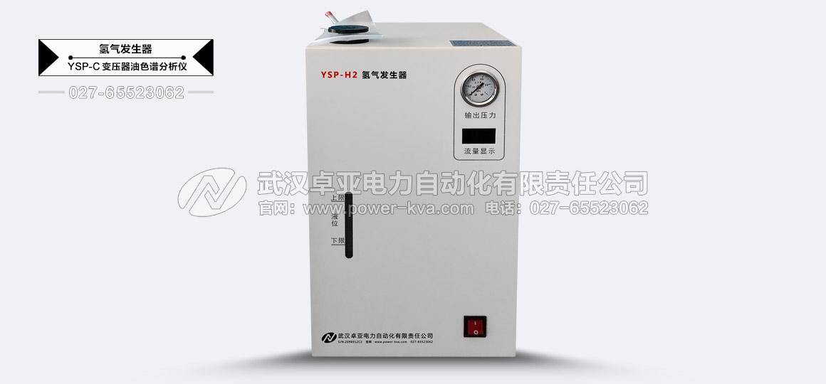 绝缘油中溶解气体组分含量分析仪氢气发生器