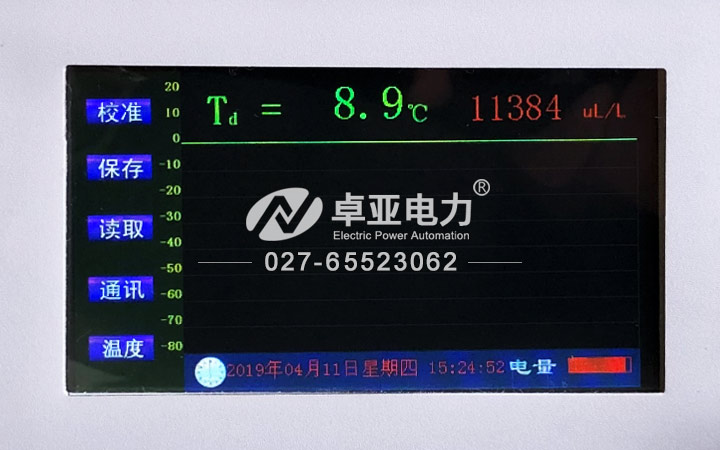 SF6气体智能微水仪