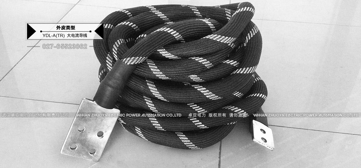 100A镀锡铜编织线 - 四控铜端子