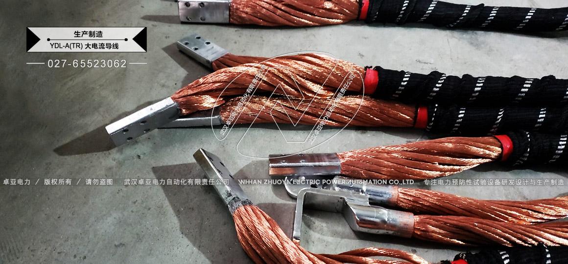 1500A大电流电源电缆细节图