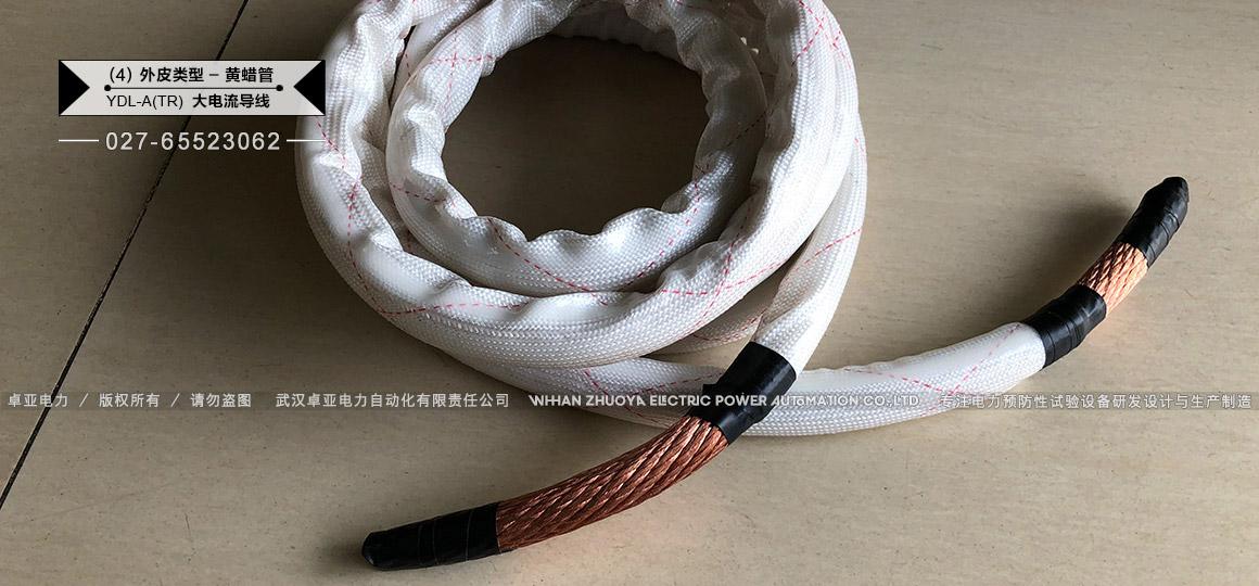 1500A编织软铜线 - 黄蜡管护套