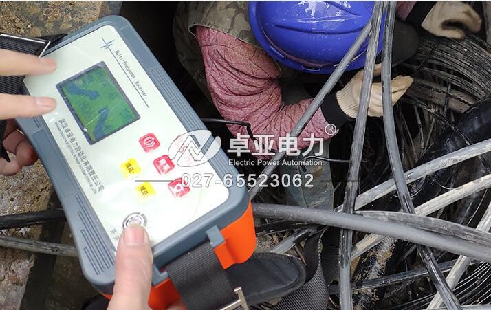 带电电缆识别仪现场识别高压电缆