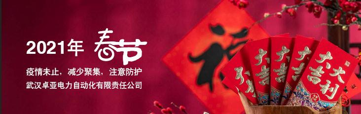 卓亚电力公司2021年春节放假通知及工作安排
