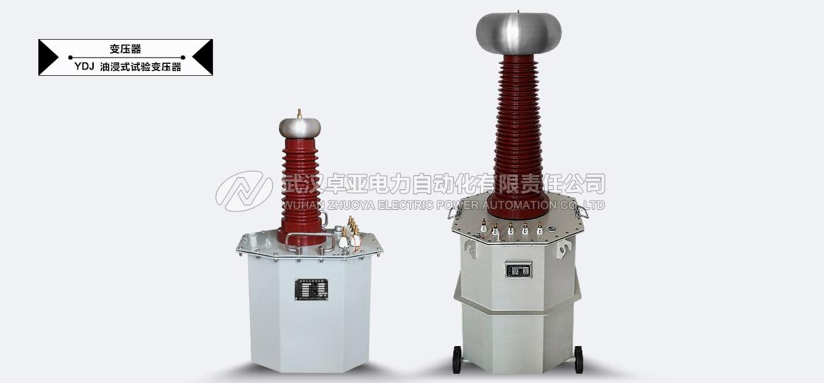 50kV交流试验变压器 - 50kV交流试验变压器控制箱(指针式)