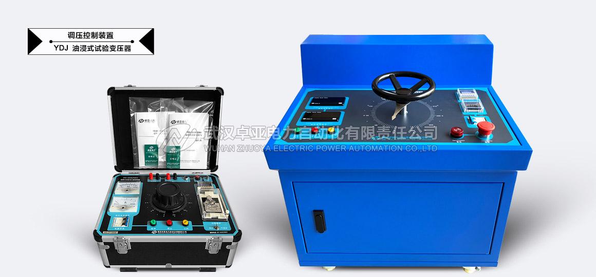 油浸式(交直流)试验变压器 - 油浸式(交直流)试验变压器控制台(指针式)