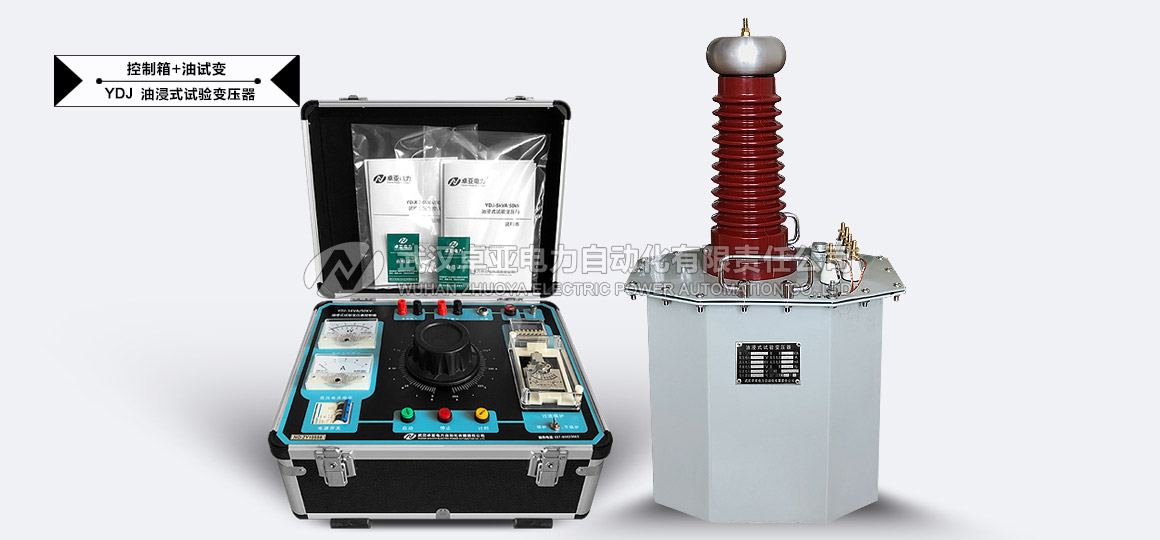 50kV交流试验变压器 - 50kV交流试验变压器控制箱(数字式)