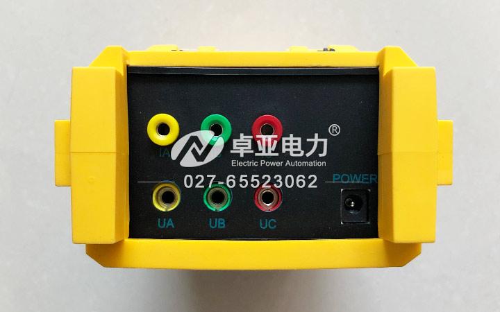 变压器容量测试仪接线柱图