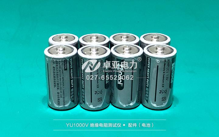 绝缘表(摇表、兆欧表) - 电池
