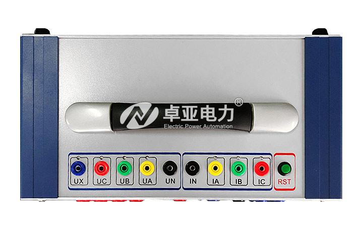 微机继电保护测试仪顶部