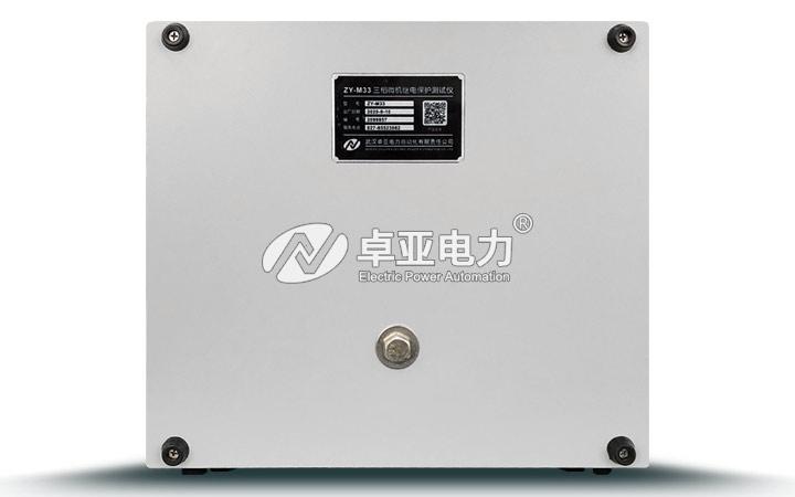 微机继电保护测试仪背面