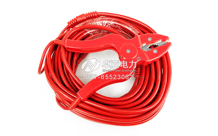 10A直流电阻测试仪测试线(红)